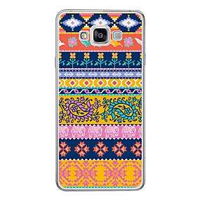 voordelige Galaxy A7(2016) Hoesjes / covers-hoesje Voor Samsung Galaxy A3 (2017) / A5 (2017) / A7 (2017) Patroon Achterkant Cartoon Zacht TPU