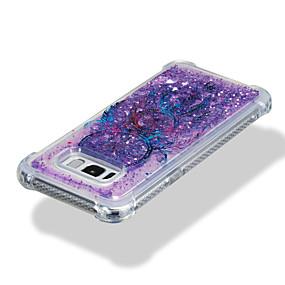 halpa Galaxy S -sarjan kotelot / kuoret-Etui Käyttötarkoitus Samsung Galaxy S8 Plus / S8 Iskunkestävä / Virtaava neste / Kuvio Takakuori Uni sieppari / Kimmeltävä Pehmeä TPU varten S8 Plus / S8 / S7 edge