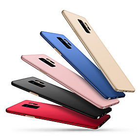 cheap Galaxy S Series Cases / Covers-Case For Samsung Galaxy S9 Plus / S9 Ultra-thin Back Cover Solid Colored Hard PC for S9 / S9 Plus / S8 Plus