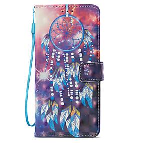 halpa Galaxy S -sarjan kotelot / kuoret-Etui Käyttötarkoitus Samsung Galaxy S9 Plus / S9 Lomapkko / Korttikotelo / Tuella Suojakuori Uni sieppari Kova PU-nahka varten S9 / S9 Plus / S8 Plus