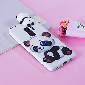 cheap Galaxy S Series Cases / Covers-Case For Samsung Galaxy S9 Plus / S9 Pattern Back Cover Panda Soft TPU for S9 / S9 Plus / S8 Plus