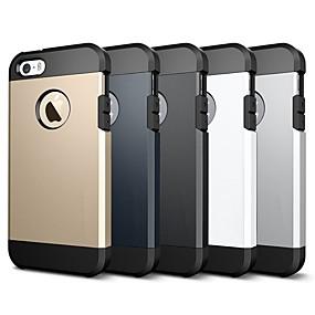 levne iPhone pouzdra-VORMOR Carcasă Pro Apple iPhone 8 / iPhone 7 Nárazuvzdorné / Brnění Zadní kryt Jednobarevné / Brnění Měkké TPU pro iPhone X / iPhone 8 Plus / iPhone 8