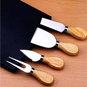 ieftine Ustensile Bucătărie & Gadget-uri-Oțel inoxidabil Dispozitive de Tăiat spatula Unelte Instrumente pentru ustensile de bucătărie pentru brânză 4 buc