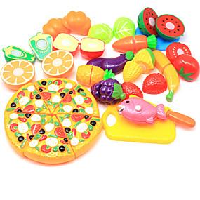 olcso Klasszikus játékok-Játék konyha készletek Szerepjátékok A Play Food vágása Élelem Gyümölcs Gyümölcs & zöldség szeletelők Gyermekbiztos Szülő-gyermek interakció Műanyag ház Gyermek Iskola előtti Összes Fiú Lány Játékok