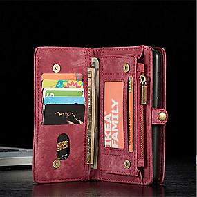 preiswerte Huawei-Hülle Für Huawei P20 / P20 Pro Geldbeutel / Kreditkartenfächer / Flipbare Hülle Ganzkörper-Gehäuse Solide Hart PU-Leder für Huawei P20 / Huawei P20 Pro