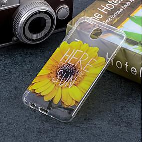 voordelige Galaxy J3 Hoesjes / covers-hoesje Voor Samsung Galaxy J7 (2017) / J5 (2017) / J5 (2016) IMD / Patroon Achterkant Bloem Zacht TPU