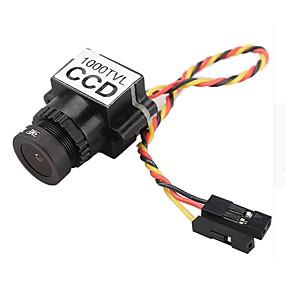 voordelige Bewaking & Beveiliging-fpv camera 1000tvl 1/3 ccd 110 graden 2.8mm lens mini fpv 5-20v camera ntsc / pal schakelbare voor racing drone