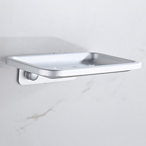 cheap Bathroom Gadgets-Soap Dishes & Holders New Design / Cool Modern Aluminum 1pc Wall Mounted