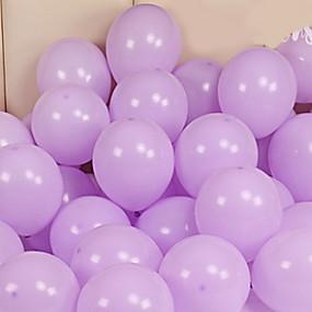 Cheap Party Decoration Balloons Round Creative Birthday Decorations 100pcs
