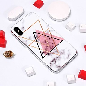 abordables Coques d'iPhone-Coque Pour Apple iPhone XR / iPhone XS Max Motif Coque Marbre Flexible TPU pour iPhone XS / iPhone XR / iPhone XS Max