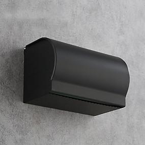 ieftine Accesorii de Baie-Suport Hârtie Toaletă Model nou / Multifuncțional Modern Aluminiu 1 buc Suporturi De Hârtie Igienică Montaj Perete