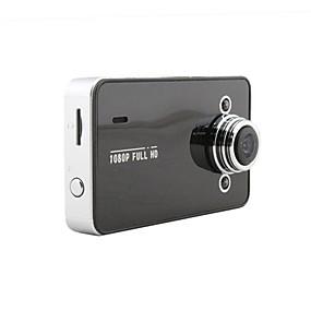 voordelige Auto DVR's-k6000 1080p Mini Auto DVR 140 graden Wijde hoek 5MP CMOS 2.7 inch(es) LCD Dash Cam met Parkeermodus / Continu-opname / ADAS Neen Autorecorder