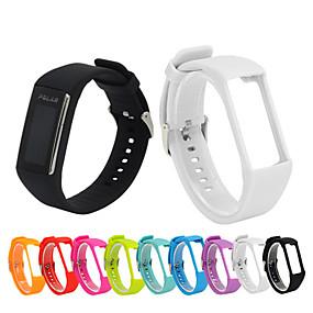 tanie Akcesoria do smartwatchów-Watch Band na POLAR A360 / A370 Polar Pasek sportowy Silikon Opaska na nadgarstek