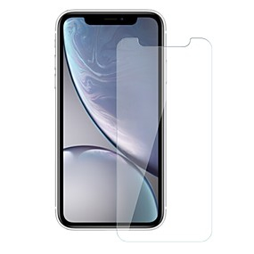 abordables Protections Ecran pour iPhone XR-Protecteur d'écran pour Apple iPhone XR Verre Trempé 1 pièce Ecran de Protection Avant Dureté 9H / Anti-Rayures