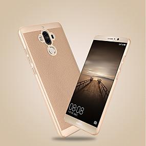 voordelige Huawei Honor hoesjes / covers-hoesje Voor Huawei Honor 9 / Honor 6A / Honor V9 Ultradun Achterkant Effen Hard PC / Mate 9 Pro