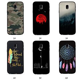 voordelige Galaxy J3 Hoesjes / covers-hoesje Voor Samsung Galaxy J7 (2017) / J6 (2018) / J5 (2017) Patroon Achterkant Woord / tekst / Landschap / Dromenvanger Zacht TPU