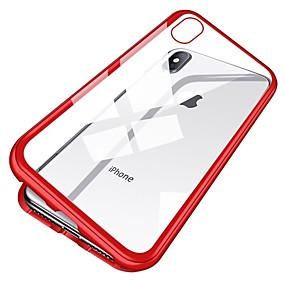 abordables Coques d'iPhone-Apple iPhone XR / iPhone XS Max ACoque magnétique pour adsorption pour iPhone XR XS Max X 8 7 6 6 S 5 Plus