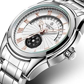 levne Mechanické hodinky-Pánské Dámské Hodinky k šatům mechanické hodinky  japonština Automatické natahování Nerez Stříbro 86a031ae5a6