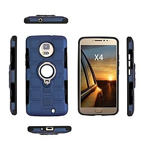 abordables Coques d'iPhone-Coque Pour Motorola E4 Plus / E4 Antichoc / Etanche à la Poussière / Etanche Coque Couleur Pleine Flexible TPU pour Moto X4 / Moto E4 Plus / Moto E4
