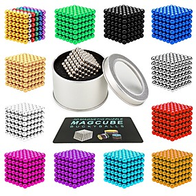 cheap Toy & Game-216 pcs 3mm Magnet Toy Magnetic Balls Magnet Toy Building Blocks Magnetic Stress and Anxiety Relief Office Desk Toys Relieves ADD, ADHD, Anxiety, Autism Novelty Kid's / Teenager / Adults' All Boys