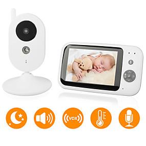 billige Babyalarmer-didseth® 0,3 mp baby monitor cmos / micro / pan og tilt 131 ° ° c night vision interval 5 m 0 ghz