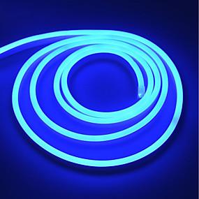 ieftine Benzi Lumină LED-lungă în aer liber 220v de înaltă tensiune neon benzi moale ușoare 5 metri eu