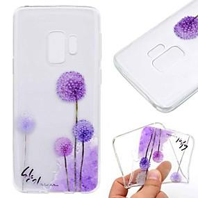 levne Galaxy S5 Mini Pouzdra a obaly-Carcasă Pro Samsung Galaxy S9 / S9 Plus / S8 Plus Průhledné / Vzor Zadní kryt Pampeliška Měkké TPU