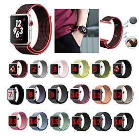 povoljno Apple oprema-Pogledajte Band za Apple Watch Series 4/3/2/1 Apple Sportski remen Najlon Traka za ruku