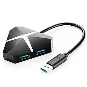 billige USB-hubber og -brytere-USB 3.0 to USB 3.0 USB-hub 4 porter Kul