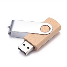 cheap New Arrivals-128GB usb flash drive usb disk USB 2.0 Wooden / Aluminum-magnesium alloy irregular Wireless Storage