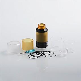 billige Damp Atomizers-LITBest QP Fatality Rta 28mm 1 stk Damp Atomizers Vape  Elektronisk cigaret for Voksen