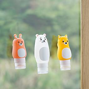 economico Accessori da viaggio-bottiglia di corsa Portatile / Accessori per valigia Plastica / Gel di silice 10*5*5 cm cm