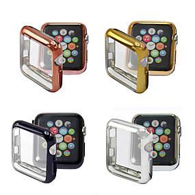 Недорогие Apple-Кейс для Назначение Apple Apple Watch Series 4/3/2/1 Ластик Apple