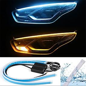 voordelige Auto-achterverlichting-2pcs Draad verbinding Automatisch Lampen 13 W SMD 2835 800 lm 168 LED Dagrijverlichting / Richtingaanwijzerlicht / Achterlicht Voor Universeel Alle jaren