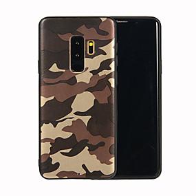 voordelige Galaxy S7 Edge Hoesjes / covers-hoesje Voor Samsung Galaxy S9 / S9 Plus / S8 Plus Mat / Patroon Achterkant Camouflage Kleur Zacht TPU