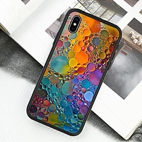 ราคาถูก เคสสำหรับ iPhone-Case สำหรับ Apple iPhone X / iPhone XS Pattern ตัวกระเป๋าเต็ม ภาพสีน้ำมัน Hard อะคริลิค / พลาสติก สำหรับ iPhone XS / iPhone XR / iPhone X