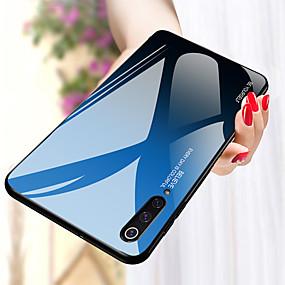 billige Xiaomi-Etui Til Xiaomi Mi 9 / Mi 9 SE Stødsikker Bagcover Farvegradient Hårdt TPU / Tempereret glas for Xiaomi Mi Max 3 / Xiaomi Mi 8 / Xiaomi Mi 8 Lite