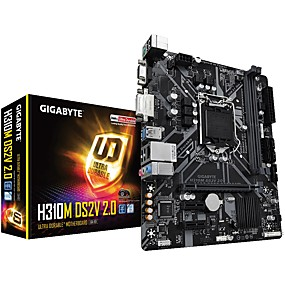 cheap Computer Components-GIGABYTE H310M DS2V 2.0 motherboard Intel Z370 INTEL LGA 1151