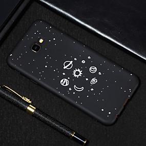 voordelige Galaxy J7(2017) Hoesjes / covers-hoesje Voor Samsung Galaxy J7 Prime / J7 (2017) / J5 Prime Mat / Patroon Achterkant Hemel Zacht TPU