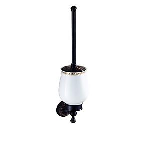 cheap Bathroom Gadgets-Toilet Brush Holder New Design Antique Brass 1pc - Bathroom Wall Mounted
