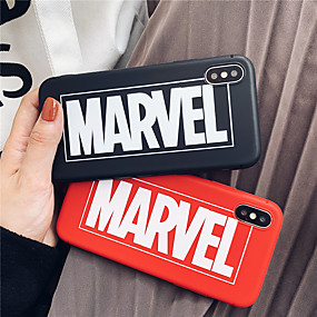 abordables Cool & Fashion Cases pour iPhone-Coque Pour Apple iPhone XR / iPhone XS Max Dépoli Coque Mot / Phrase Flexible TPU pour iPhone XS / iPhone XR / iPhone XS Max