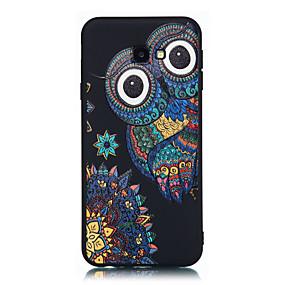 voordelige Galaxy Grand Prime Hoesjes / covers-hoesje Voor Samsung Galaxy J7 Prime / J7 (2017) / J5 Prime Mat / Patroon Achterkant Tegel Zacht TPU