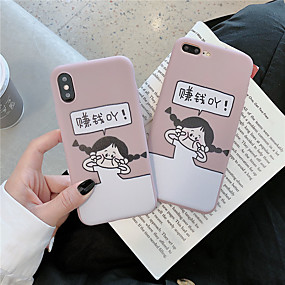 billige Apple-tilbehør-tilfældet til Apple iPhone xr / iphone xs maks mønster bagcover ord / sætning hårdt tpu til iphone x xs 8 8plus 7 7plus 6 6plus 6s 6s plus