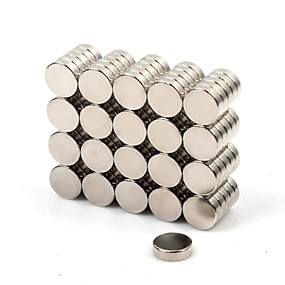 olcso Játékok & hobbi-100 pcs Mágneses játékok Super Strong ritkaföldfémmágnes Mágneses Mágneses matrica Mini Játékok Ajándék