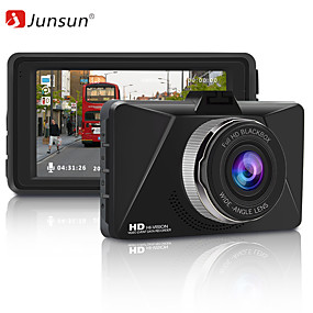 voordelige Auto DVR's-Junsun Q6 Full HD 1080p auto DVR-camera 3 inch video-opname wdr dashcam nachtzicht auto recorder parkeermonitor