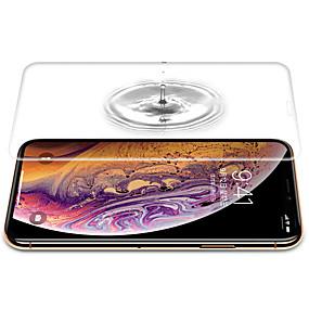 abordables Protections Ecran pour iPhone XR-CISIC Protecteur d'écran pour Apple iPhone XS / iPhone XR / iPhone XS Max TPU Hydrogel 1 pièce Ecran de Protection Intégral Haute Définition (HD) / Antidéflagrant / Extra Fin