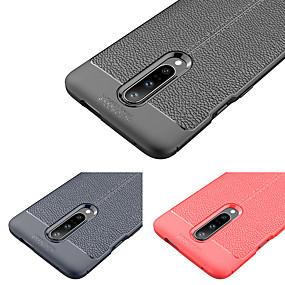 Недорогие Oneplus-Кейс для Назначение OnePlus Один плюс 7 Защита от удара Кейс на заднюю панель Однотонный Мягкий ТПУ для Один плюс 7