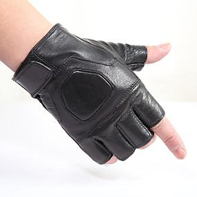 Недорогие Мотоциклетные перчатки-унисекс кожаные тактические перчатки напольные дышащие противоскользящие перчатки для тренировок