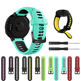 cheap Daily Deals-Smartwatch Band for Approach S20 / Forerunner 230 / 735 Garmin Strap Silicone Sport Fashion Soft Band