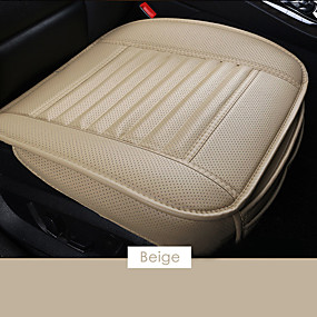 cheap Car Seat Covers-Car Front Seat Cover PU Non-slip Car Seat Cushion Cover for Four Seasons